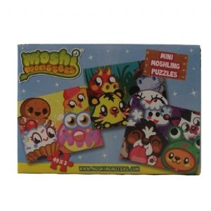 Moshi Monsters Mini Monsters Set of 3 Jigsaw Puzzles
